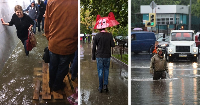 Flooded Moscow: Photos and videos of recent apocalypse in the capital