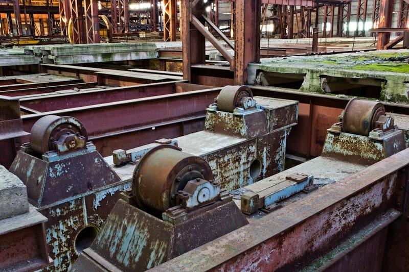 Destructing Forging Factory In Belarus