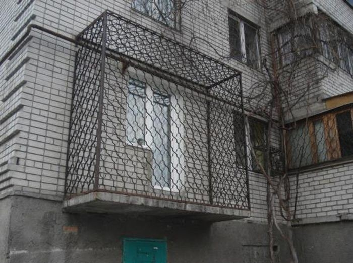 40 Craziest Russian Balconies
