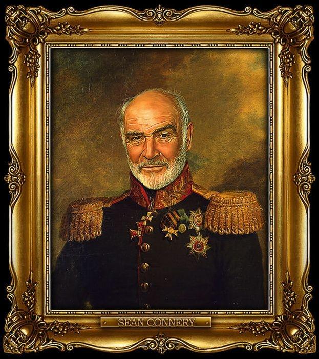 Celebrities Wearing the Uniform of Russian Generals