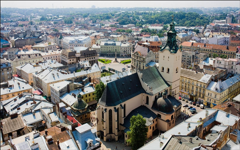A Journey Through The Roofs Of Lviv