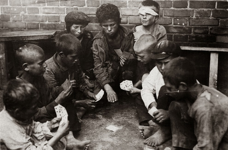 Homeless Kids  of Early USSR