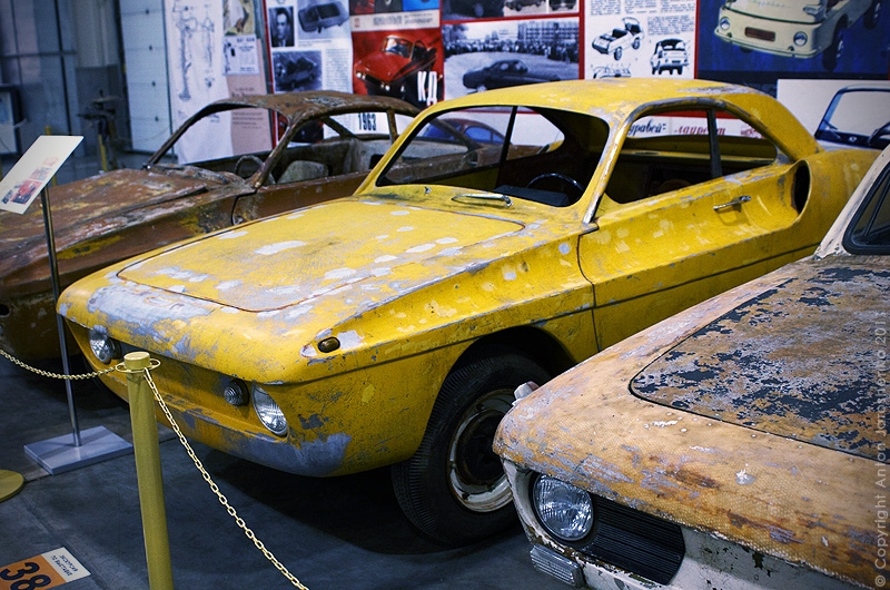 The Exhibition of Soviet Home-Made Cars