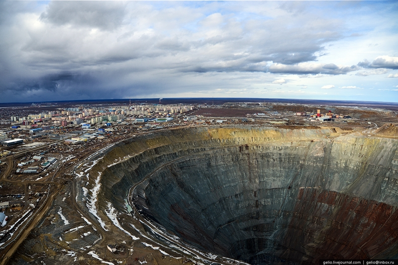 How Diamonds Are Mined (in Russia)