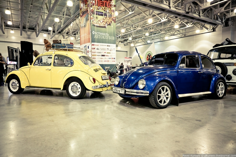 The Oldtimer-Gallery: Exhibition Of Retro Cars In Moscow