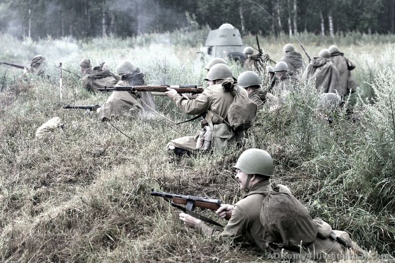 The Reconstruction of One Bloody Battle of 1942