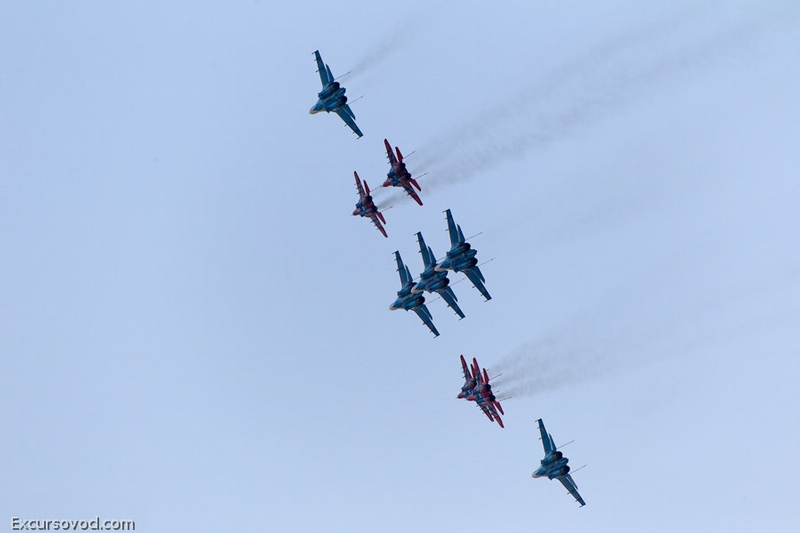 Grandiose Air Show MAKS-2011. Part 2