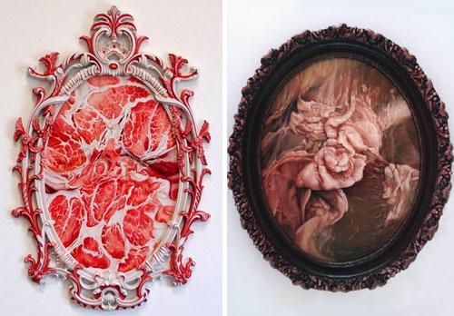 Freaky Meat Art