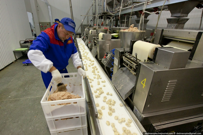 How Pelmeni Are Made