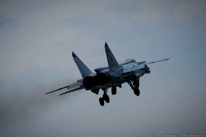 Russian Jets At Work