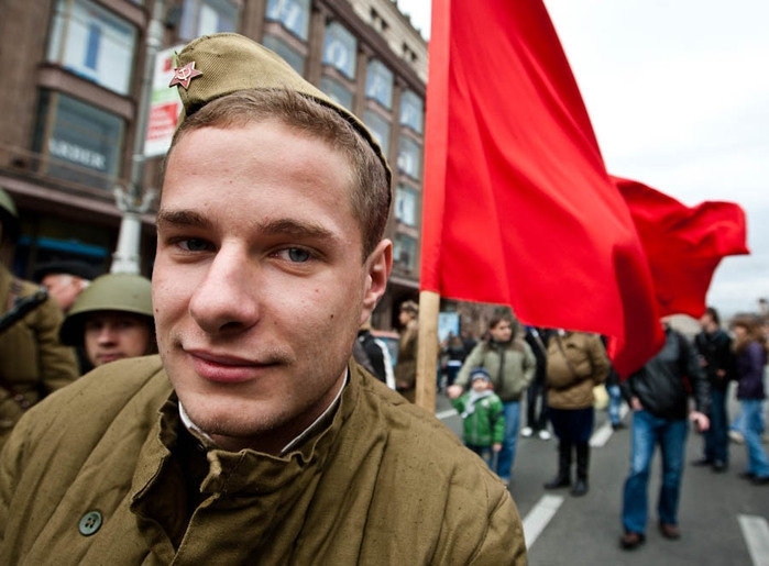 Celebrating Victory Day In Ukraine