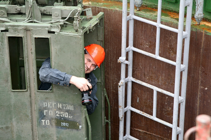 Visit To An Acting Missile Pit