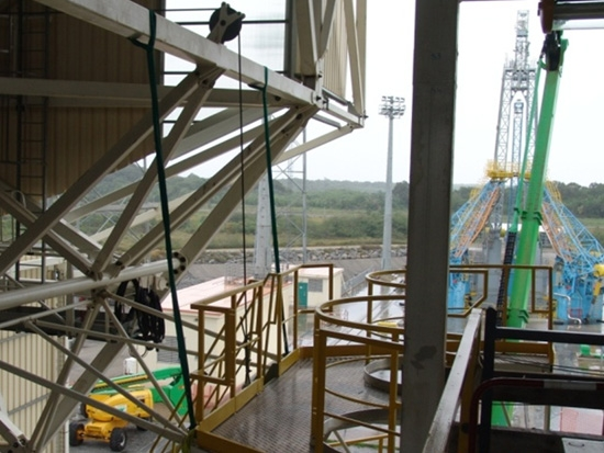 Service Tower For Soyuz-ST Launch