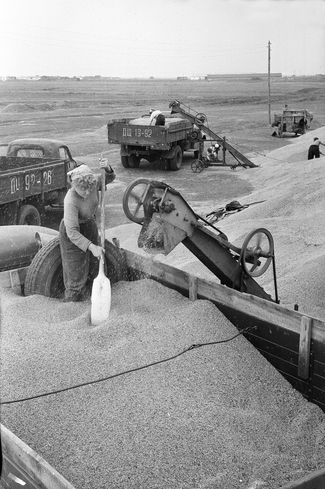 Soviet Exploration of the Unused Lands