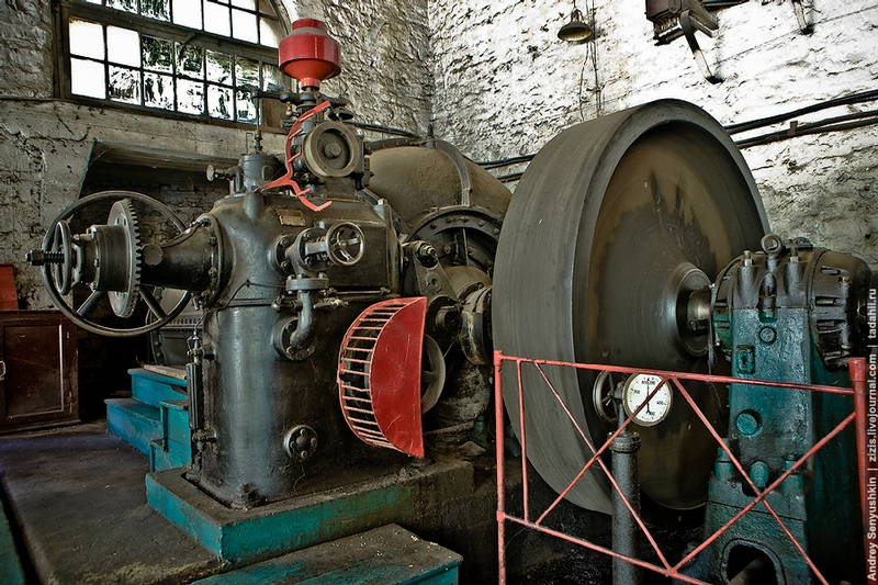 A 100-Year Old Power Plant