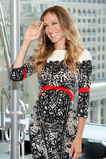 Sarah Jessica Parker In Moscow