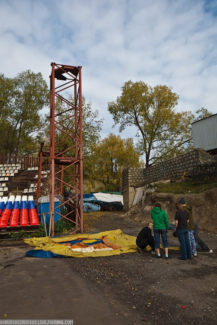 A Junior Stunt School In Moscow