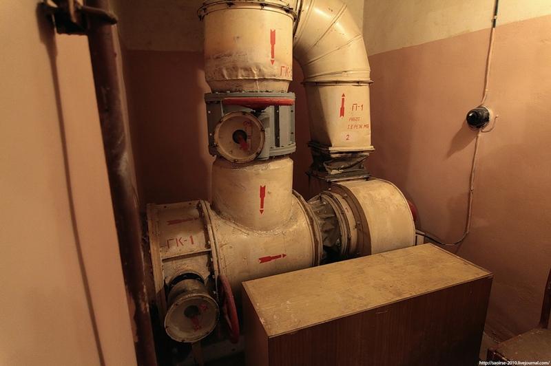 Three Abandoned Bombshelters