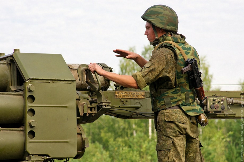 Training Artillerymen In Mulino