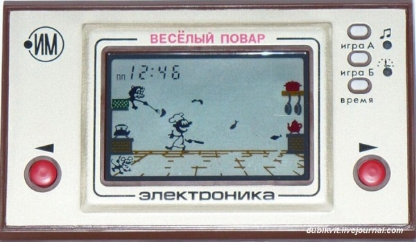 Soviet Videogames Copied from American and Japanese Ones