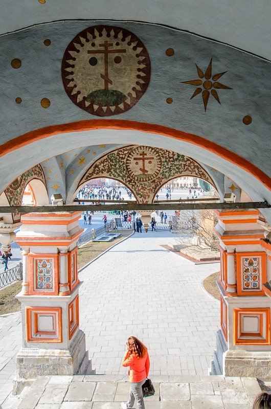 St. Basils Cathedral from Inside