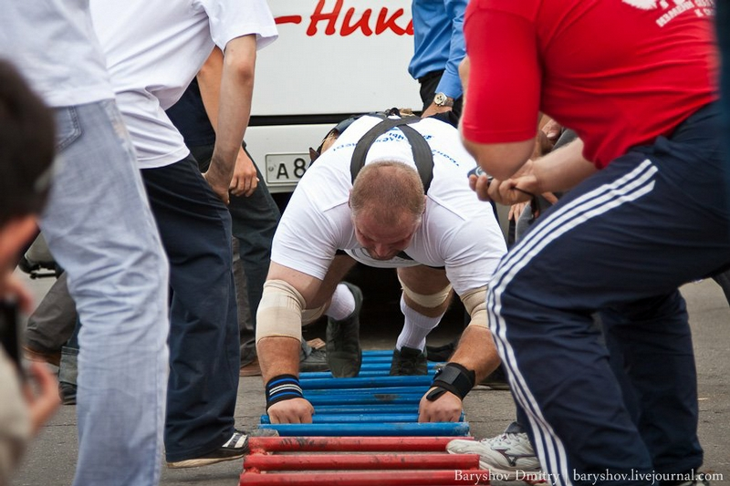 The Contest Among the Strongest Men in Cheboksary