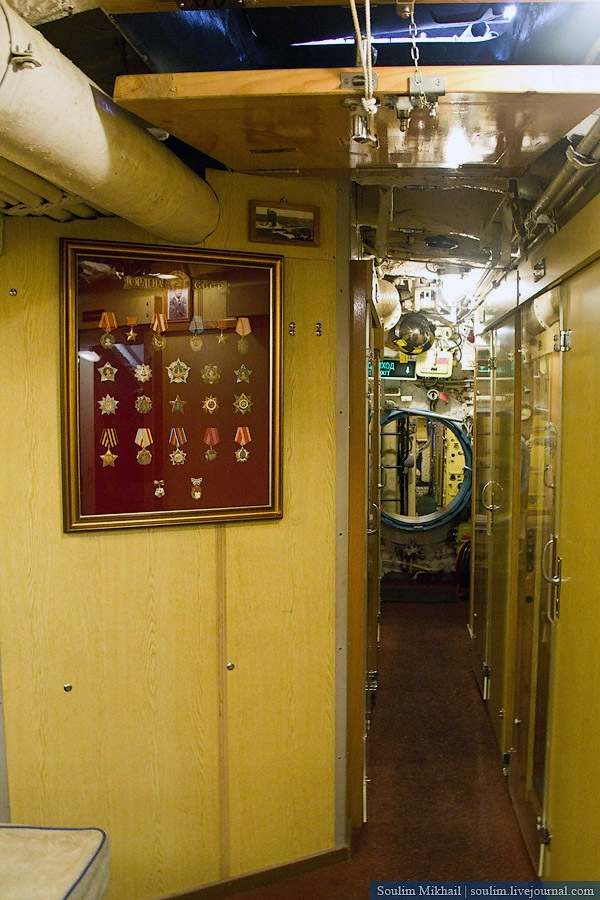 C-189 Submarine Museum, St. Petersburg