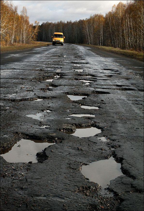 Состояние дорог в России