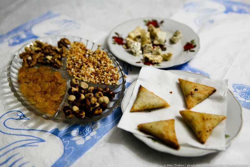 Plate Of Oriental Sweets