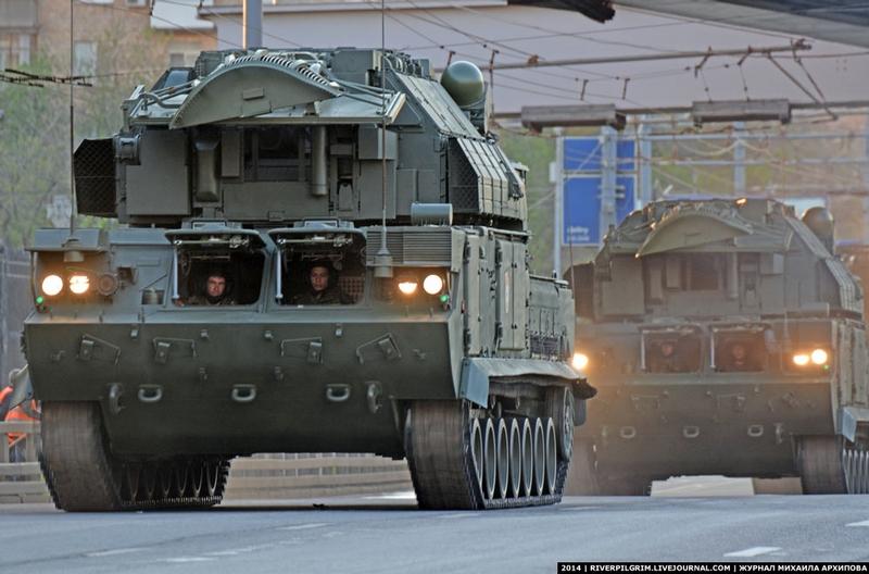Tanks in the City