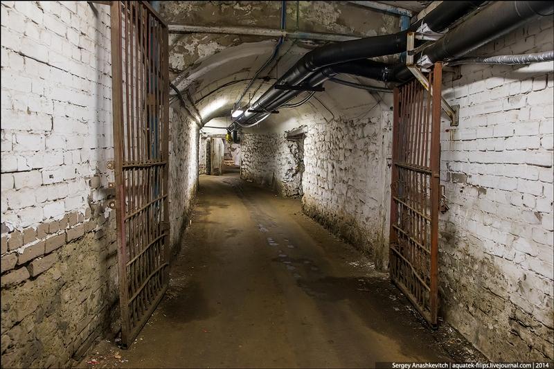 Giant Underground Fridge in Samara Russia
