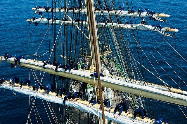Under Sail Of Hope And Krusenstern