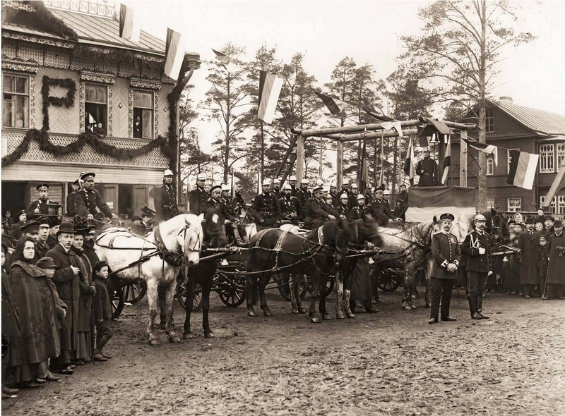 Russian Firemen of the Past