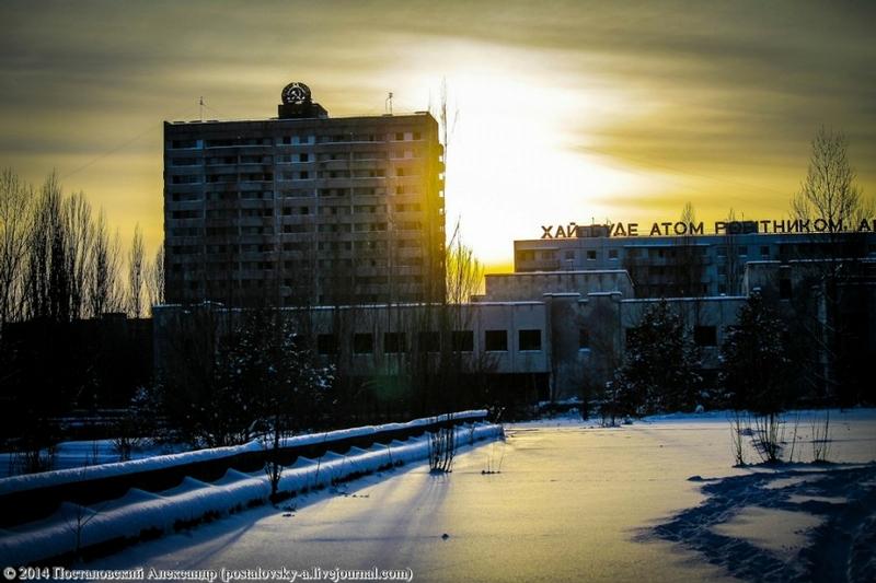 More Winter in Chernobyl