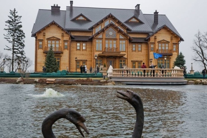 Pillaged Residence of Ukrainian President
