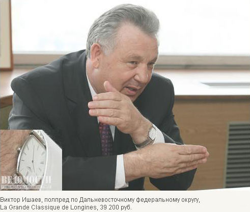 Russian politicians watches