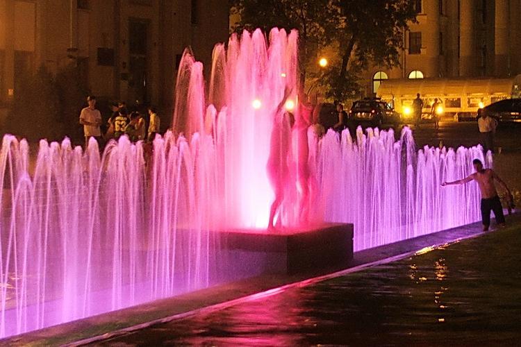 Night Minsk City