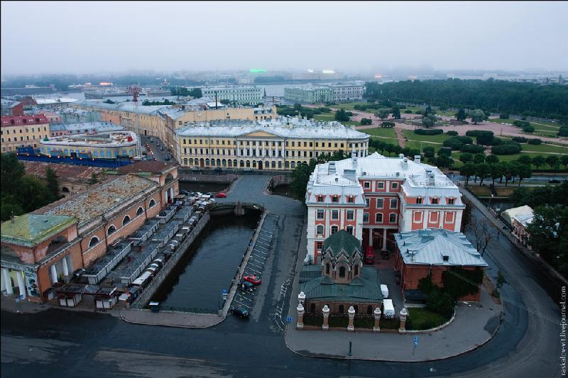Predawn St. Petersburg