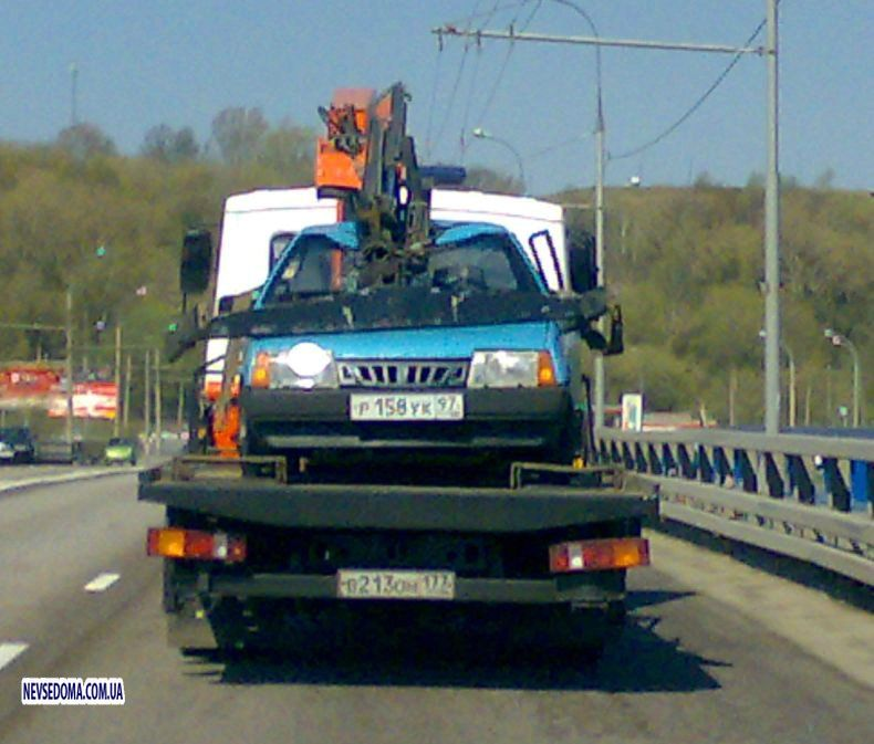 Russian tow truck 2