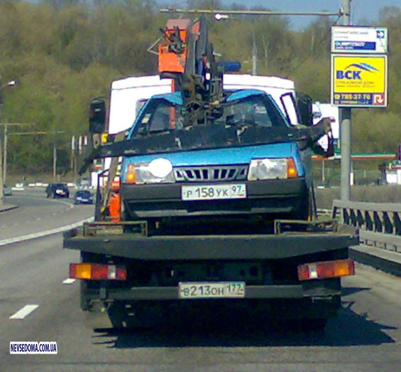 Russian tow truck 3