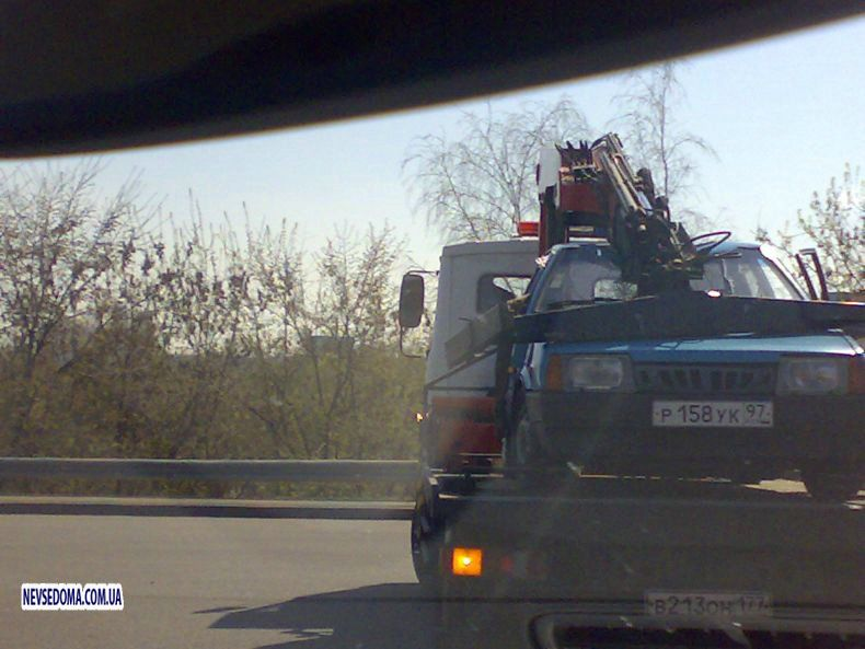 Russian tow truck 4