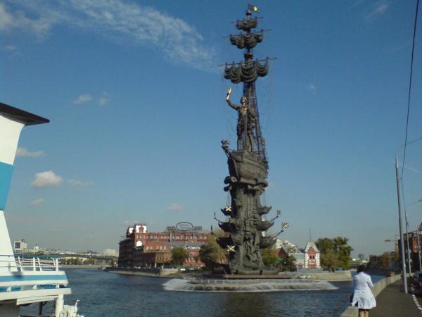 Russians against Monument 2