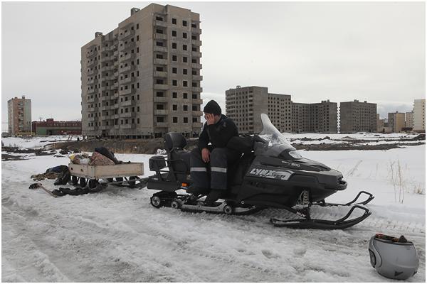 Russian city Norilsk 13