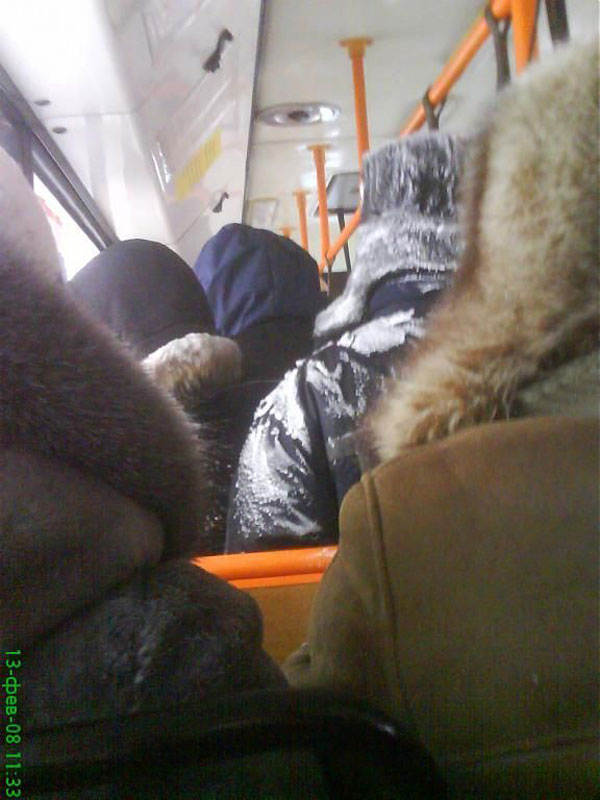 World extreme public transportation in Russia 16