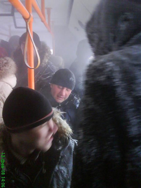 World extreme public transportation in Russia 18