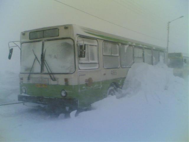 World extreme public transportation in Russia 5