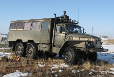 Cars from Russian North 1