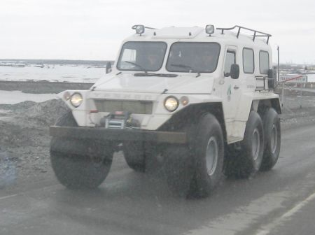 Cars from Russian North 7