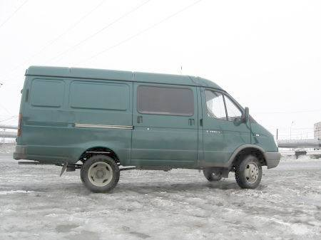 Cars from Russian North 8