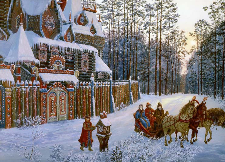 Paintings of Russian prehistoric North 1